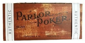 Parlor Poker Board Game