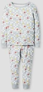 Toddler Girls' 100% Organic Cotton Pajama Set Hearts - Cat & Jack