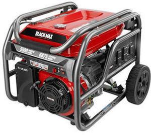 Black Max 5,500 Watt Portable Gas Generator