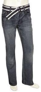 Flypaper Guy's Silver Haze V2 Fray Straight Jean