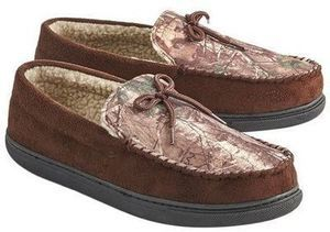 Northern Trail Men's Camo Moccasin Slipper NORTHERN TRAIL Men's Boxed Slippers