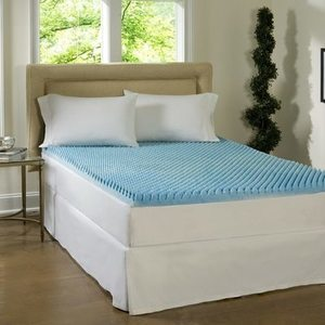 Comforpedic Loft from Beautyrest Memory Foam Sculpted Gel 3-inch Mattress Topper