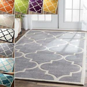 nuLOOM 5'x8' Handmade Luna Moroccan Trellis Rug