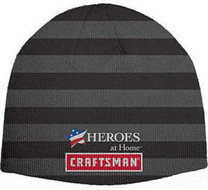 Craftsman Charcoal and Grey Beanie