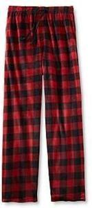 Joe Boxer Men's Fleece Pajama Pants - Buffalo Check