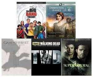 Select TV Series on DVD