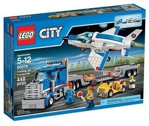 17408579 Lego City Space Port Training Jet Transporter