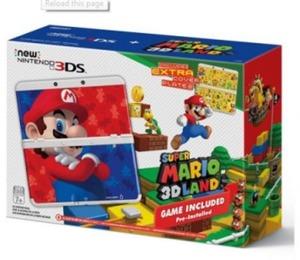 New Nintendo 3DS Super Mario 3D Land Edition Bundle