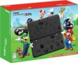 Nintendo 3DS Super Mario Black Edition - Black