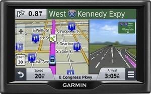 "Garmin nvi 57LM 5"" GPS with Lifetime Map Updates - Black"