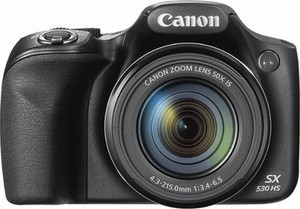 Canon PowerShot SX530 16.0-Megapixel HS Digital Camera - Black