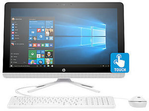 "HP All-in-One 24"" Touchscreen PC with AMD A8, 8GB RAM, 1TB HDD"