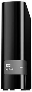 WD My Book 4TB External Hard Drive With Backup, USB 3.0/2.0, Black