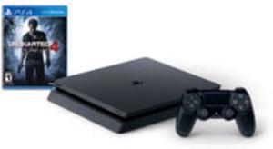 PlayStation 4 Slim Uncharted 4 500GB Bundle by Sony