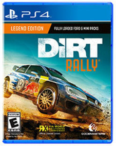 DiRT Rally by Codemasters