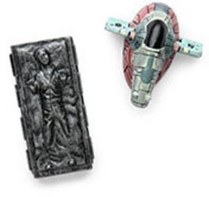 Star Wars Magnet Set - Han Solo & Slave 1 - by ThinkGeek by ThinkGeek