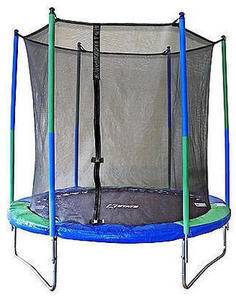 Stats 8 foot Trampoline with Enclosure