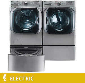 LG TwinWash 5000 Laundry Suite w/ Electric Dryer