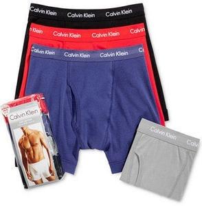 Calvin Klein 3-Pack Classic Boxer Briefs +1 Bonus Pair