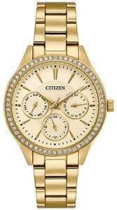 Women's Citizen's Quartz Gold-Tone Stainless Steel Bracelet Watch
