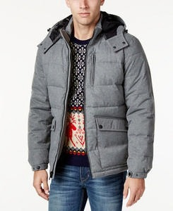 Nautica Men's Hooded Puffer Coat