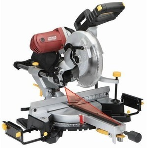 Chicago Electric 12 in. Double-Bevel Sliding Compound Miter Saw With Laser Guide System