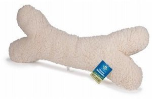 Sheepskin Dog Bone Toy