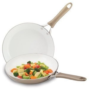 "8"" & 10"" WearEver Pure Living Saute Pan Set"