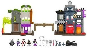 Fisher-Price Imaginext DC Super Friends Legends of Batman Crime Alley Playset