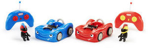 "Little Tikes Remote Control Bumper Cars Set - Toys""R""Us Little Tikes RC Wheelz Bumper Cars"
