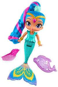 Shimmer and Shine Magic Mermaid Bath Dolls