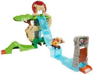 Fisher Price Blaze and the Monster Machines Animal Island Stunts Speedway
