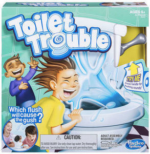 Toilet Trouble Tabletop Game