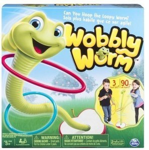 Wobbly Worm Ring Toss Game