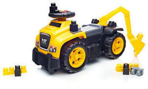 Mega Bloks Cat 3-in-1 Excavator Ride-On