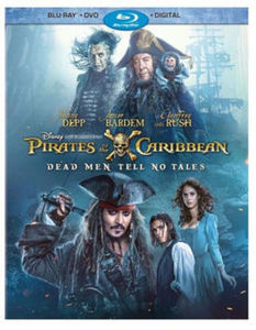 Pirates of the Caribbean: Dead Men Tell No Tales Blu-Ray Combo Pack (Blu-Ray/ DVD/ Digital)