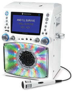 The Singing Machine Karaoke System with 7 inch Color Screen