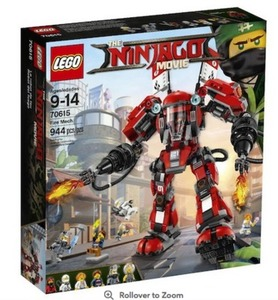 The LEGO Ninjago Movie Fire Mech