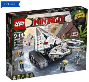 The LEGO Ninjago Movie Ice Tank