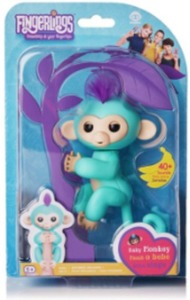 WowWee Fingerlings Interactive Baby Monkey Toy Zoe