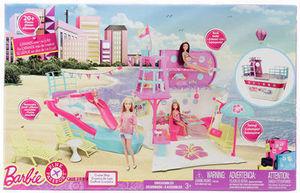 Barbie Pink Passport Cruise Ship Playset