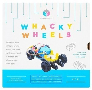 Circuit Cubes Whacky Wheels Kit