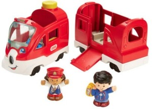 Fisher-Price Little People Friendly Passengers Train Playset