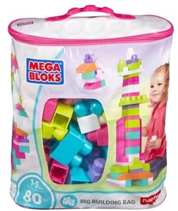Mega Bloks First Builders 80-piece Big Building Bag