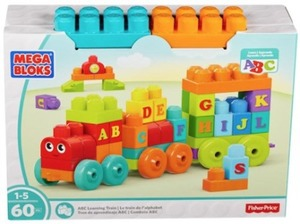 Mega Bloks ABC Learning Train Playset
