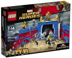 LEGO Super Heroes Marvel Thor Ragnarok Thor vs. Hulk: Arena Clash