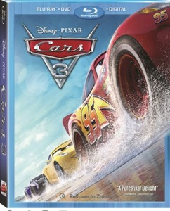 Disney Pixar Cars 3 Blu-Ray Combo Pack