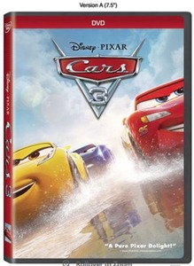 Disney Pixar Cars 3 DVD