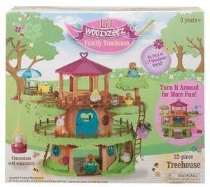 Lil' Woodzeez famiy treehouse