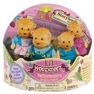 Lil' Woodzeez swiftysweepers 4 piece toy with book